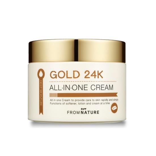 多效合一 24K黃金面霜